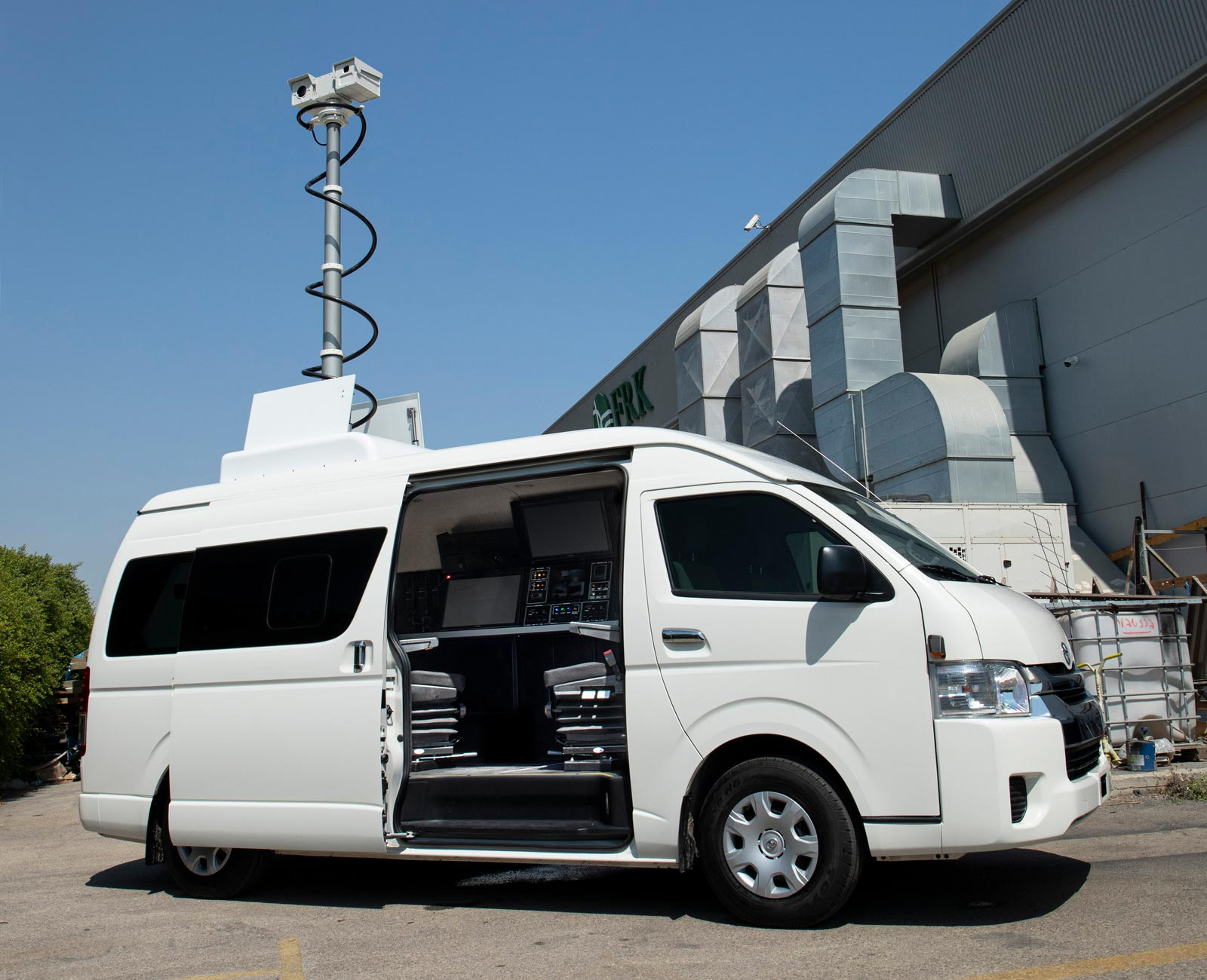 Multipurpose Surveillance Vehicles